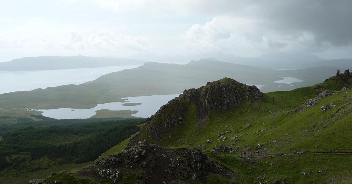 Isle of Skye - Aussicht vom Old Man of Storr