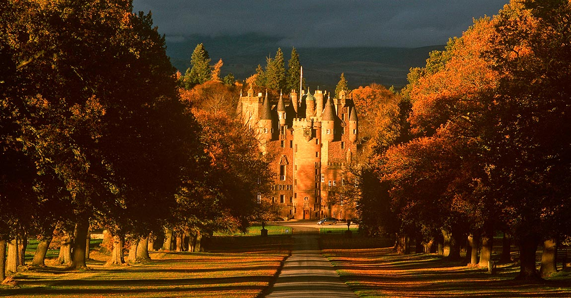 Glamis Castle bei Perth