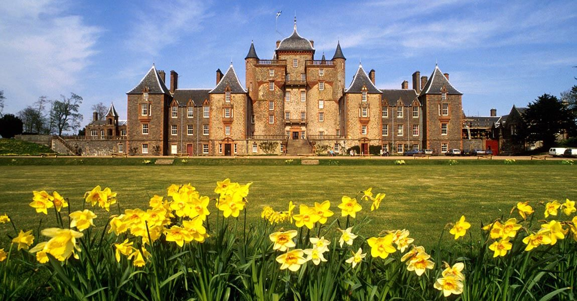 Thirlestane Castle in der Border Region